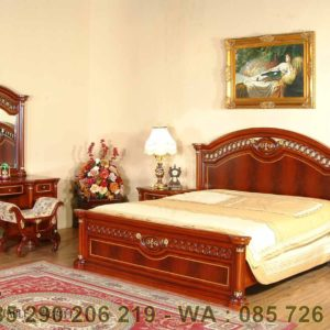 Set Tempat Tidur Jati Jepara