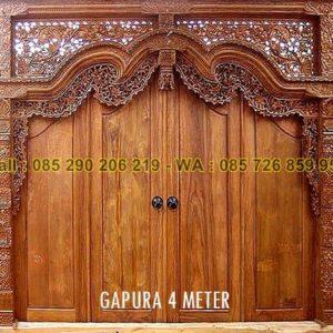 Gebyok Gapura 4 Meter