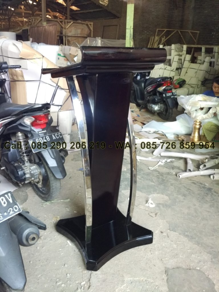 Mimbar Podium Stainless