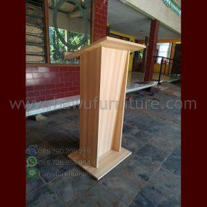 Mimbar Masjid Minimalis HPL Unit Banyak Siap Berangkat