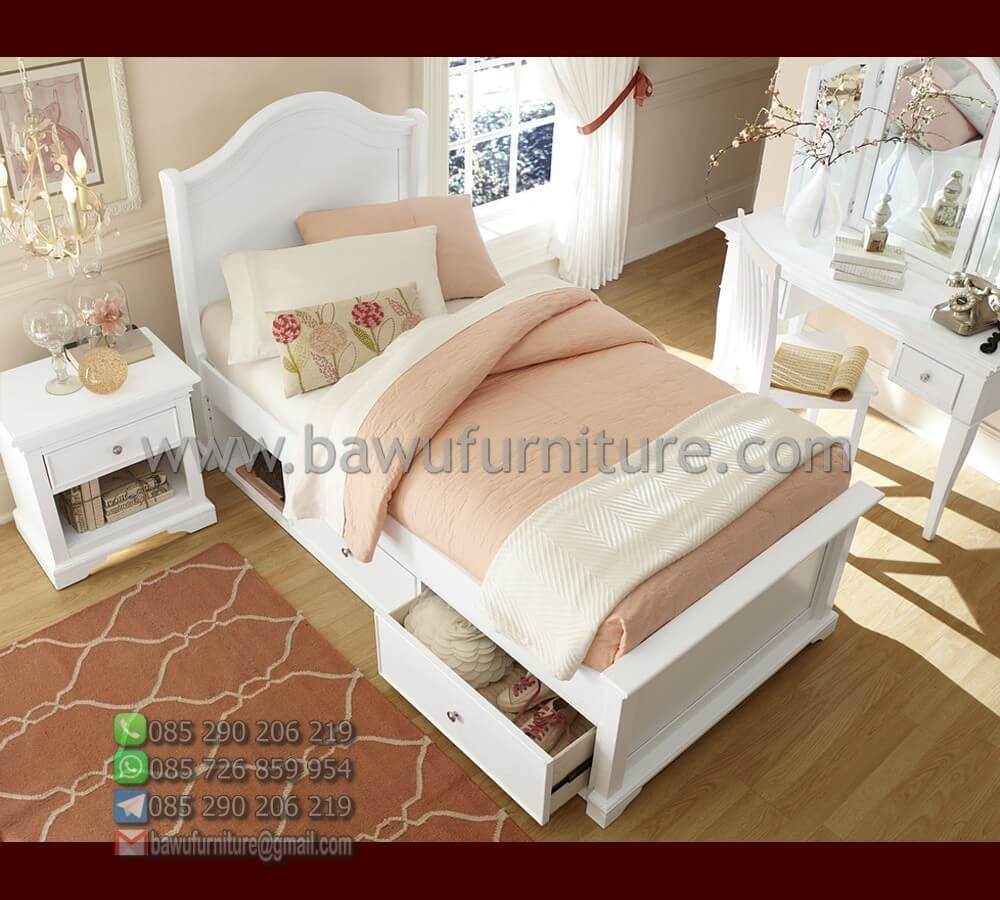 Tempat Tidur Anak Laci 1