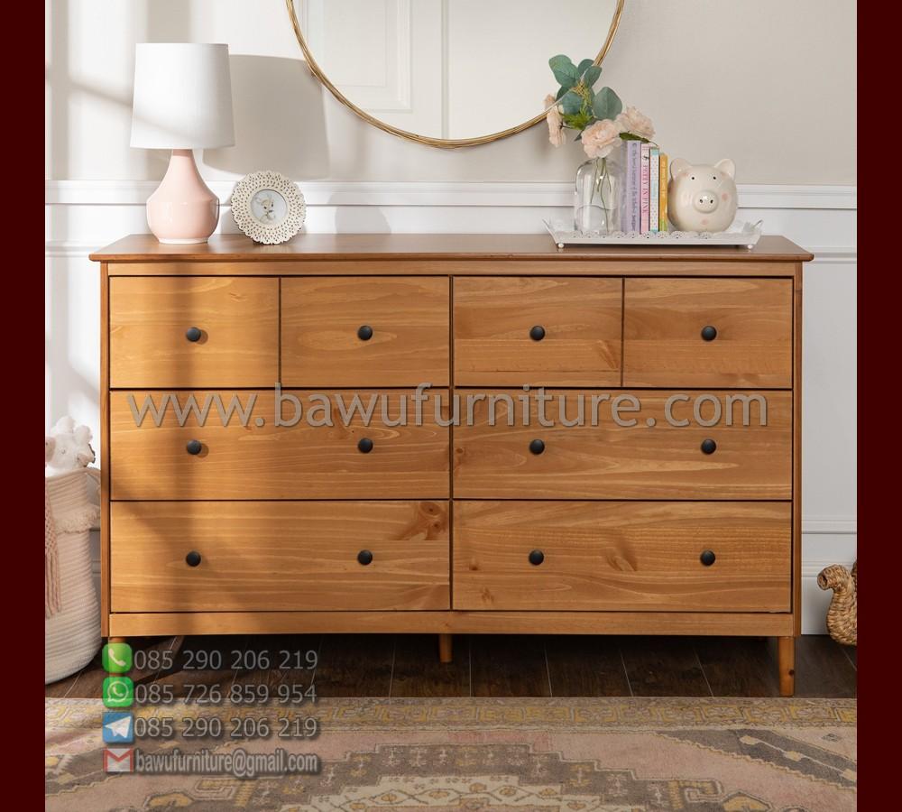 Dresser Minimalis Jati