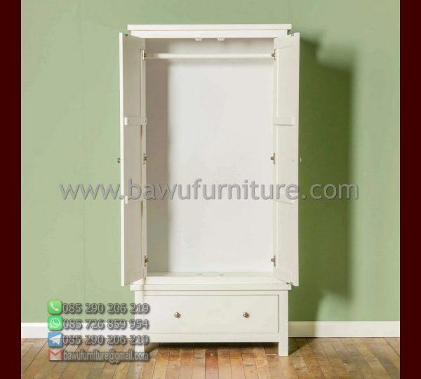 Lemari Pakaian 2 Pintu Minimalis Bagian Dalam
