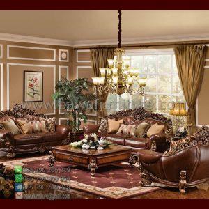 Sofa Tamu Mewah Jati