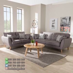 Sofa Tamu Retro Minimalis