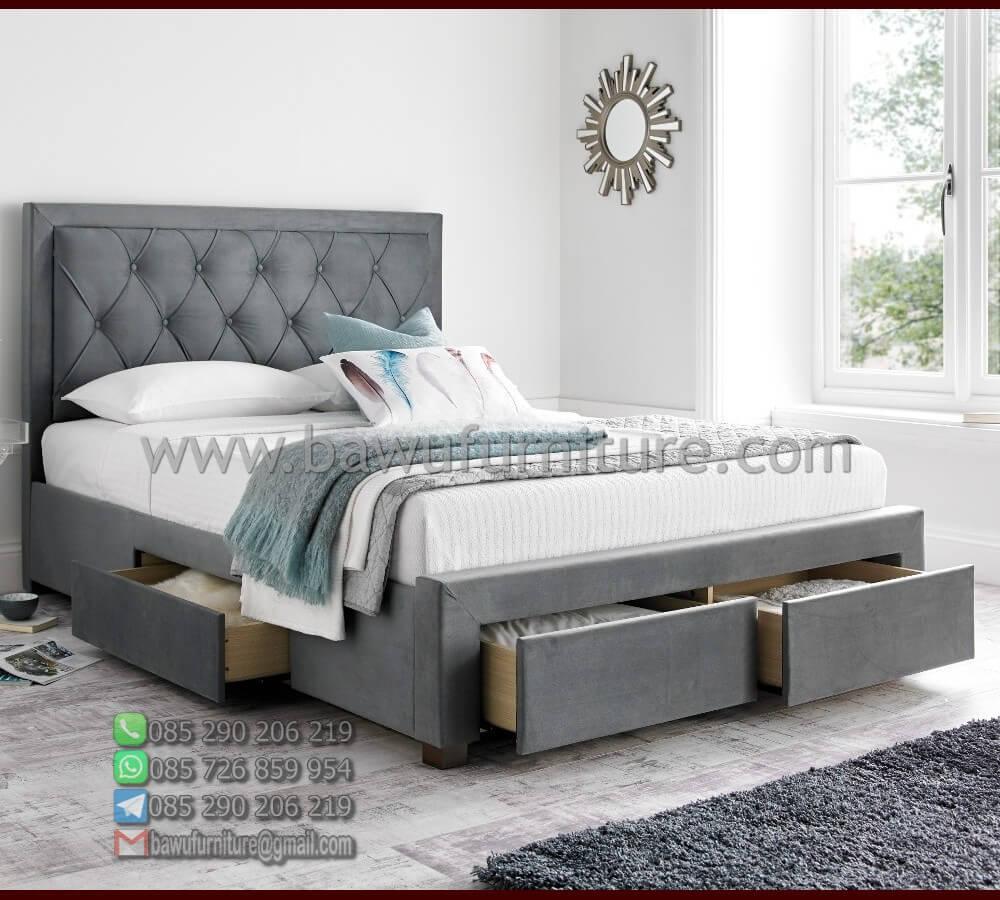 Tempat Tidur Minimalis Jok Laci 1