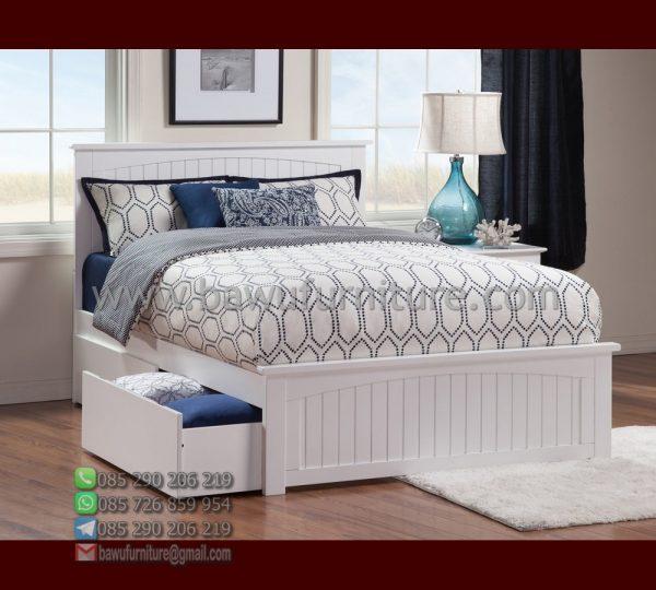 Tempat Tidur Minimalis Laci 1
