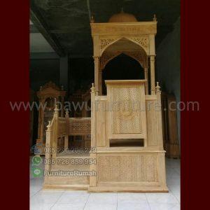 Jual Mimbar Masjid Kubah