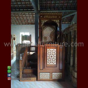 Jual Mimbar Masjid Ukiran