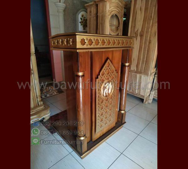 Jual Mimbar Masjid Minimalis Soko