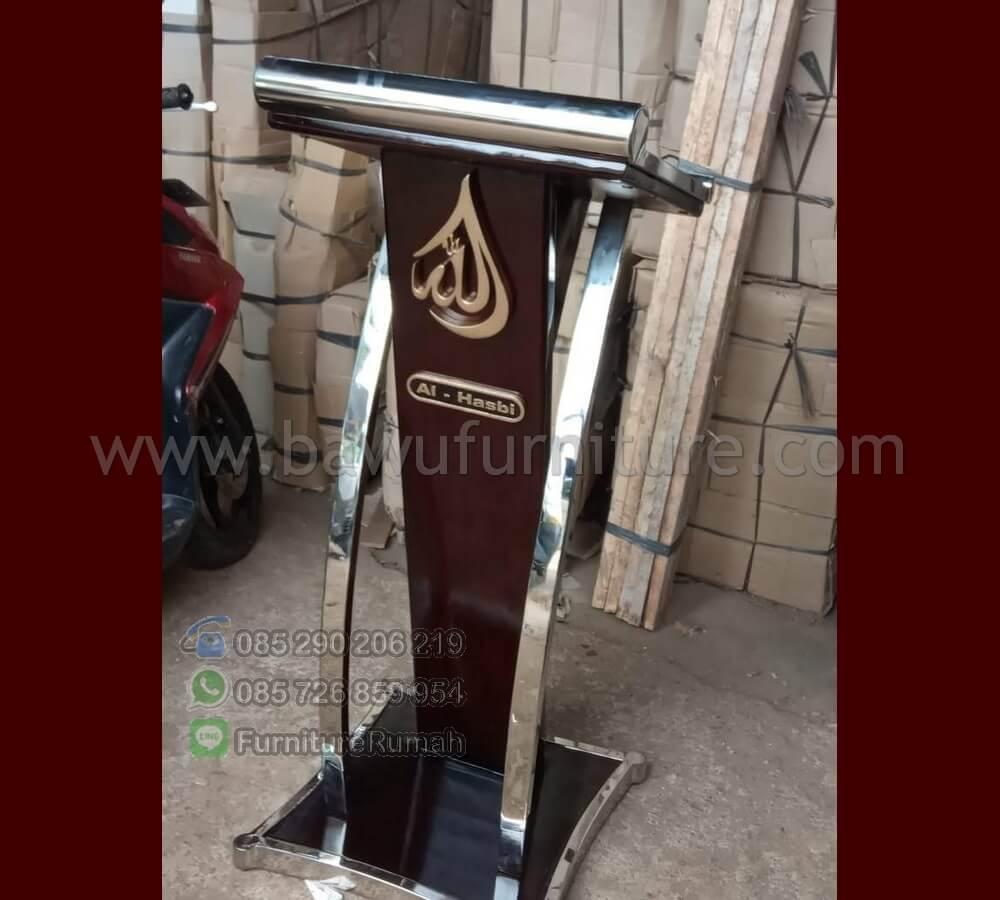 Podium Musholah Al Hasbi Jati