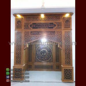 Mihrab Masjid Jati