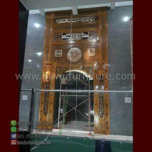 Mihrab Masjid Jati Jepara