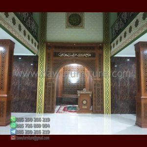 Mihrab Masjid Minimalis