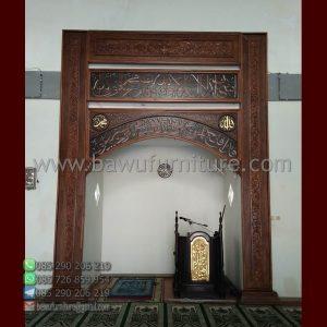 Mihrab Masjid Murah