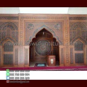 Mihrab Masjid Ukiran