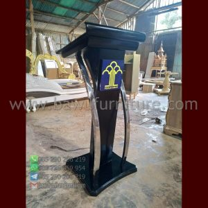 Model Podium Minimalis Stainless