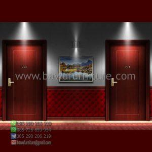 Pintu Kamar Hotel