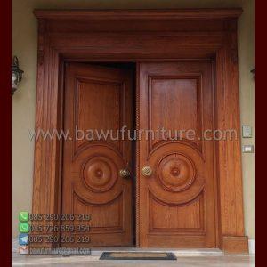 Pintu Rumah Jati Mewah