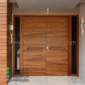 Pintu Rumah Jati Modern