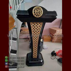 Podium Pidato Islami