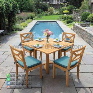 Meja Makan Outdoor Villa