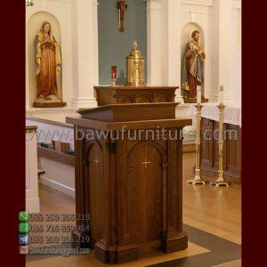 Mimbar Gereja Jati Mewah