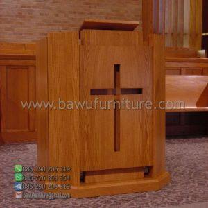 Mimbar Gereja Jati Minimalis