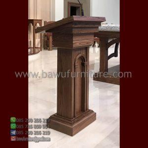 Podium Gereja Kayu Terbaru