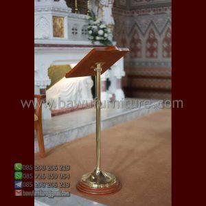 Podium Gereja Tiang Stainless