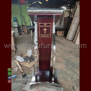 Podium Minimalis Gereja Modern