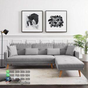 Sofa Sudut Scandinavian