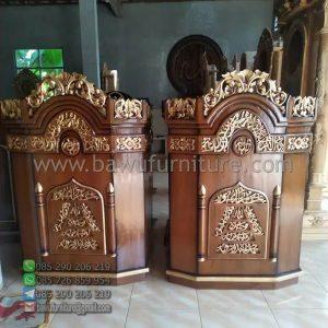 Mimbar Ceramah Masjid Aceh