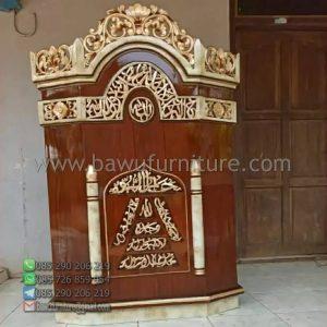 Mimbar Ceramah Masjid Lampung