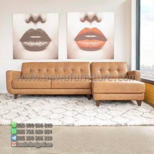 Sofa Sudut Retro Modern