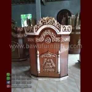 Mimbar Ceramah Masjid Banjar