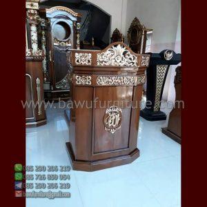 Mimbar Ceramah Masjid Depok