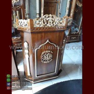 Mimbar Ceramah Masjid Padang