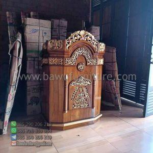 Mimbar Ceramah Masjid Sleman
