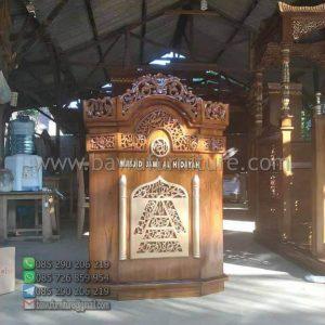Mimbar Masjid Jami Al Hidayah