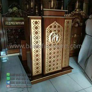 Mimbar Masjid Minimalis Banjar