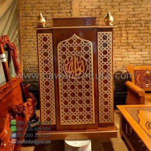 Mimbar Masjid Minimalis Bekasi