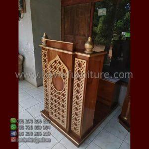 Mimbar Masjid Minimalis Bogor