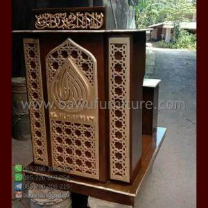 Mimbar Masjid Minimalis Cimahi