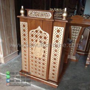 Mimbar Masjid Minimalis Depok