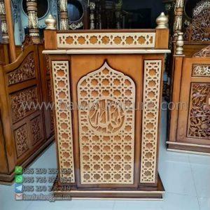 Mimbar Masjid Minimalis Jakarta