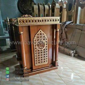 Mimbar Masjid Minimalis Kudus