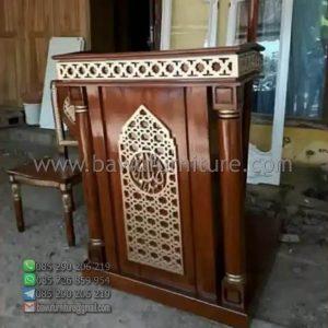 Mimbar Masjid Minimalis Pati