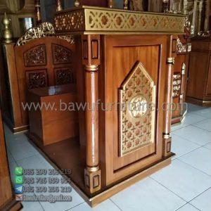Mimbar Masjid Minimalis Semarang