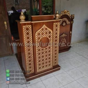 Mimbar Masjid Minimalis Sukabumi